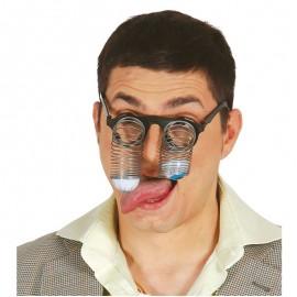 Gafas con Muelles en los Ojos
