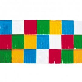 Bolsa 25 m Fleco Plástico Multicolor