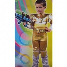 Disfraz de Guerrero de niño