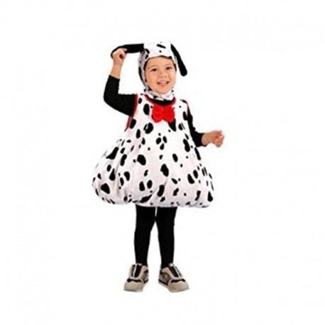Disfraz de Perrito Dálmata de niña