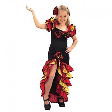 Disfraz de Bailarina de Rumba de niña