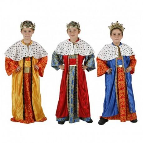 Disfraz de Rey Mago de niño