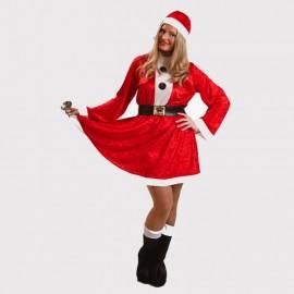 Disfraz de Mama Noel de mujer