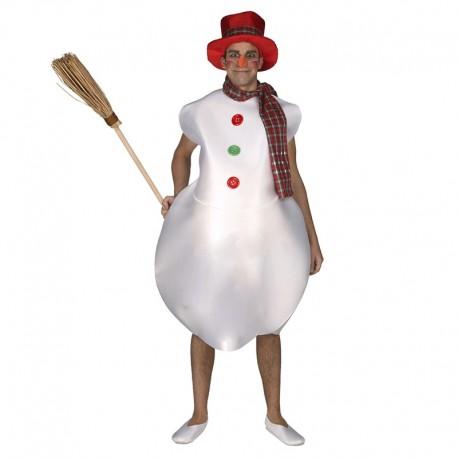 Disfraz de Muñeco de Nieve de adulto