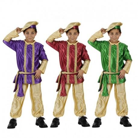 Disfraz de Paje de niño