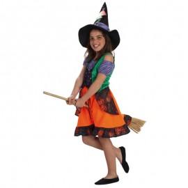 Disfraz de Bruja corta de niña