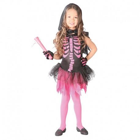 Disfraz de Skeleton Girl de niña