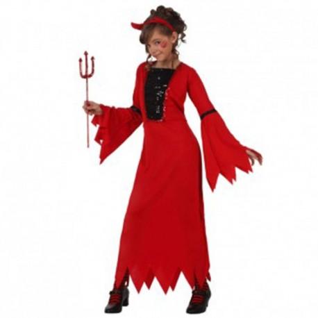 Disfraz de Diablesa de niña