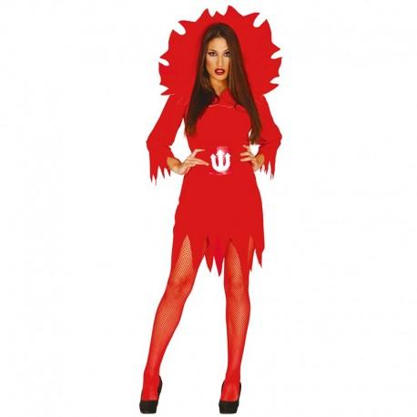 Disfraz de Diablesa de mujer