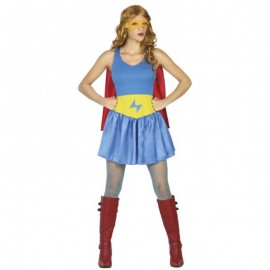 Disfraz de Héroe Cómic para mujer