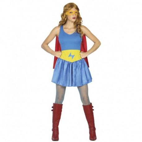 Disfraz de Héroe Cómic de mujer