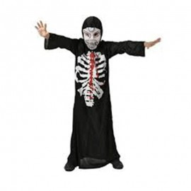 Disfraz de esqueleto tinieblas de niño