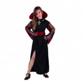 Disfraz de vampiresa de niña
