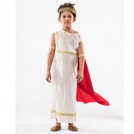 Disfraz de griega de niña