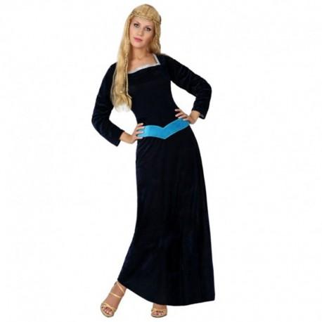 Disfraz de Dama Medieval de mujer