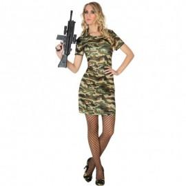 Disfraz de Militar de mujer