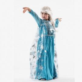 Disfraz de princesa del hielo infantil