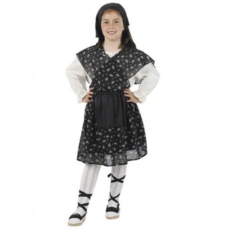 Disfraz de Campesina Castañera de niña