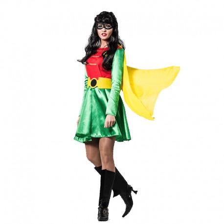Disfraz de super Robina para mujer