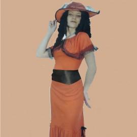 Disfraz de Scarlet para mujer