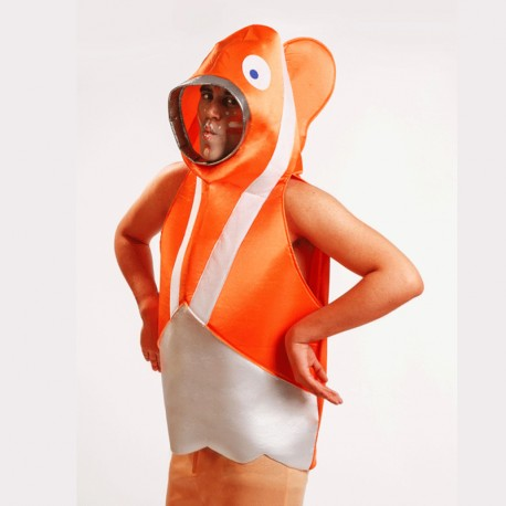 Disfraz de pez para hombre