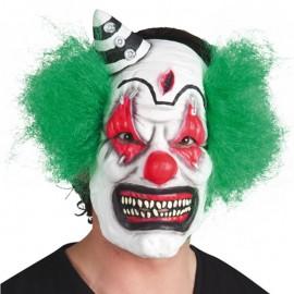 Máscara de payaso diabolico de latex