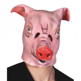 Máscara de cerdo de latex