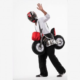 Disfraz de moto para adulto