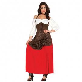Disfraz de Tabernera para mujer