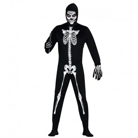 Disfraz de Esqueleto para hombre