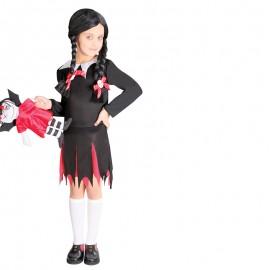 Disfraz de Colegiala Maléfica para niña