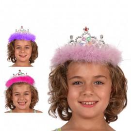 Diadema de Princesa con plumas