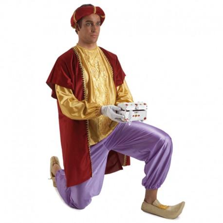 Disfraz de paje Gaspar de hombre