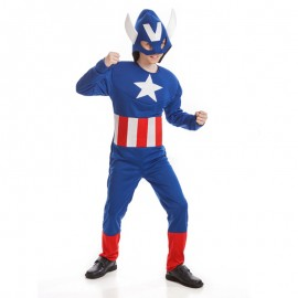 Disfraz de Superhéroe Americano infantil