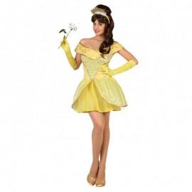 Disfraz de Princesa Amarilla para mujer