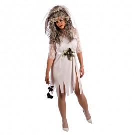 Disfraz de Novia Cadáver de mujer
