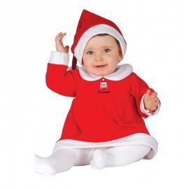 Disfraz  de Mama Noel para bebé