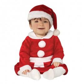 Disfraz de Mama Noel, para bébe