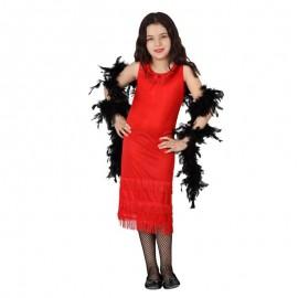 Disfraz de Charleston Rojo