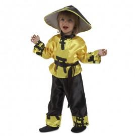 Disfraz de Chino Amarillo bebé