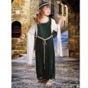 Disfraz de Dama Medieval para niña