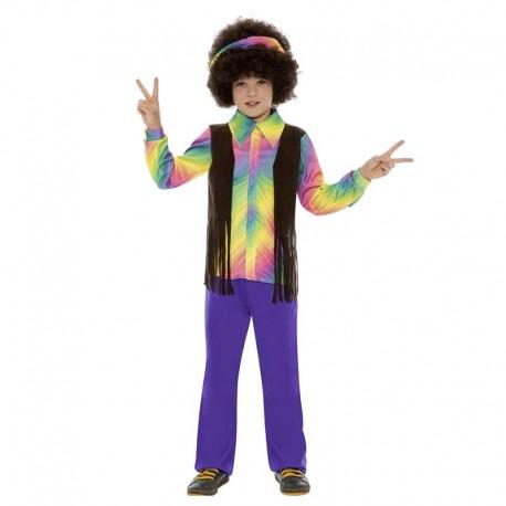 Disfraz Infantil de Hippie Disco