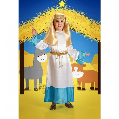 Disfraz Infantil de Virgen María