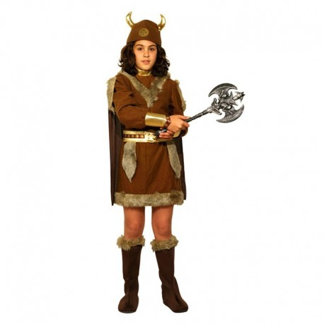 Disfraz Infantil de Vikinga