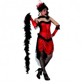 Disfraz de Bailarina Cabaret para mujer