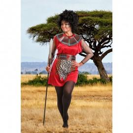 Disfraz de Tribu Africana para mujer
