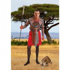 Disfraz de Tribu Africana para hombre