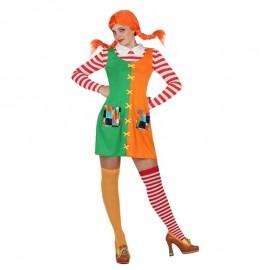 Disfraz de Muñeca Pipi para mujer