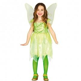 Disfraz Infantil de Hada Verde