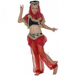 Disfraz Infantil de Bailarina Mora Roja